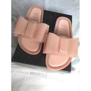 ee66534c0863 Melissa Shoes - NIB- Melissa Shoes Beach Slide Bow 🎀